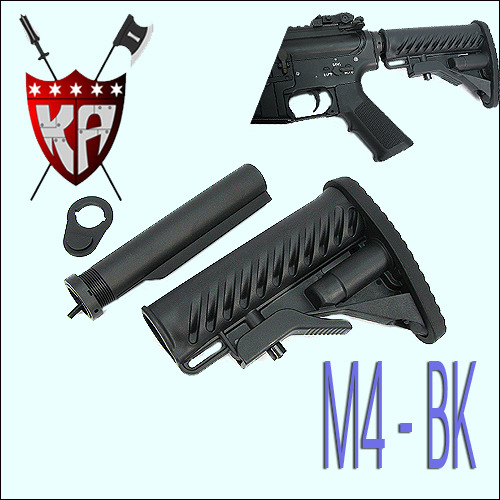 M4 Tactical Stock - BK