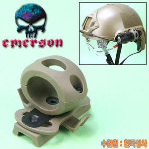Helmet Flash Mount / TAN