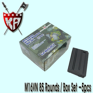 M16VN 85 Rounds Magazines Box Set (5pcs)