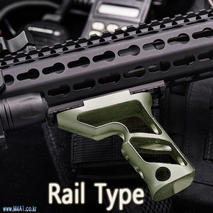 PTS Fortis Shift Fore Grip / TAN (Rail Type)