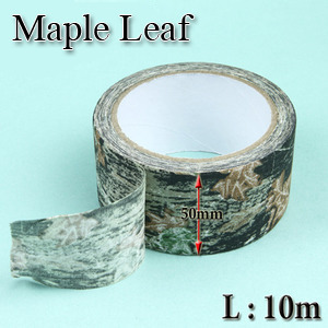 Military Camo Cloth Tape / Maple Leaf