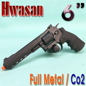 Full Metal Revolver Co2 / 6""