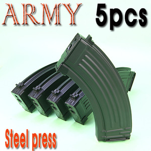 ARMY AK Steel Press Magazine / 5pcs