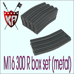 M16 300R MAG Box Set/Metal/BK