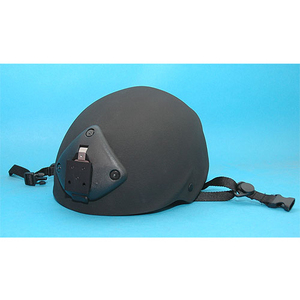 USMC Type Helmet with Night Vision Mount (Black)(New Version)