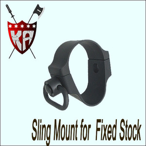 Sling Mount For Fixed Stock