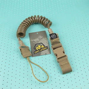 Pistol Lanyard Belt Loop / TAN
