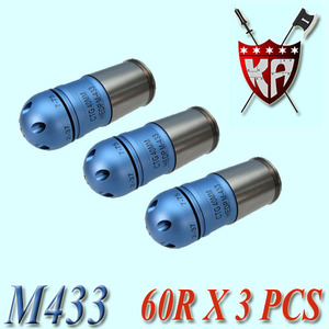 60R Cartridge M433 HEDP / 3 Pcs