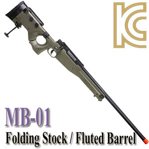 MB-08 OD / Folding Stock & Fluted Barrel