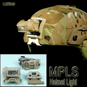 MPLS Helmet Light / TAN